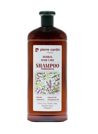Pierre Cardin Herbal Yağlı Şaçlar Için Bitkisel Şampuan 750 Ml Renksiz